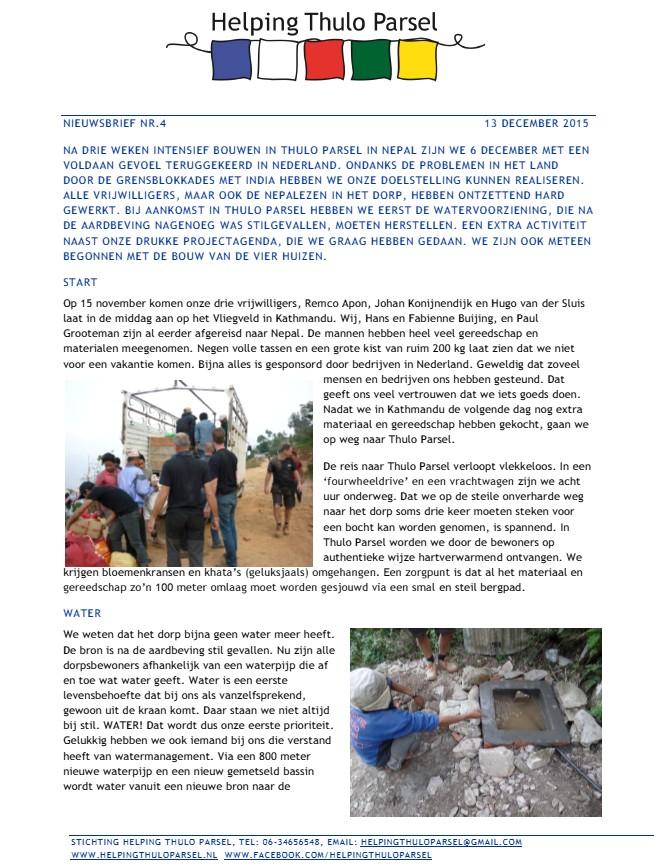 Nieuwsbrief nr_4 - December 2015